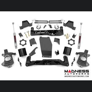 "Chevy Silverado 1500 4WD Suspension Lift Kit w/ N3 Shocks - 6"" Lift - Aluminum Stamped Steel"